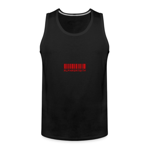 BASS X ALPHASANSITY - Mannen Premium tank top