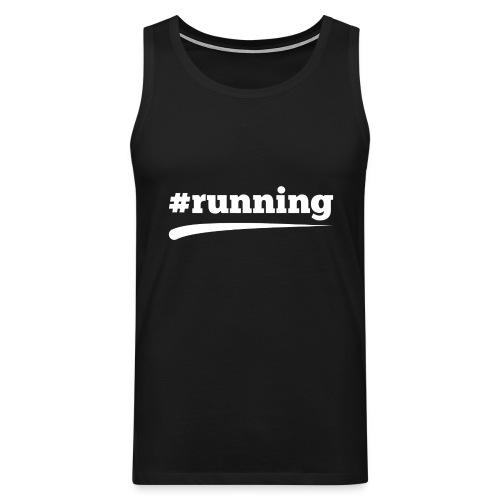 #RUNNING - Männer Premium Tank Top