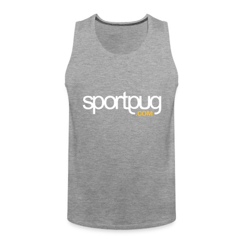 SportPug.com - Miesten premium hihaton paita
