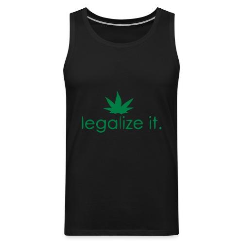 LEGALIZE IT! - Men's Premium Tank Top