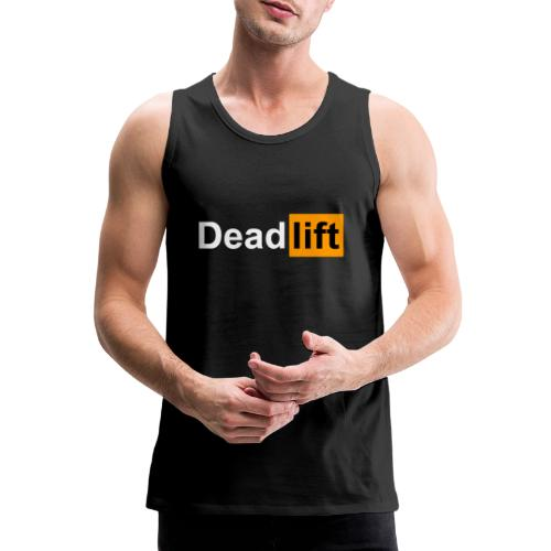 DeadLift X - Débardeur Premium Homme