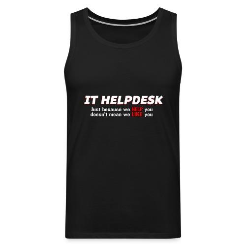 I.T. HelpDesk - Men's Premium Tank Top