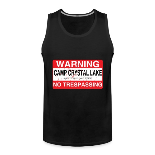 Camp Crystal Lake No Trespassing - Débardeur Premium Homme