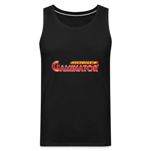 Gaminator logo - Men's Premium Tank Top