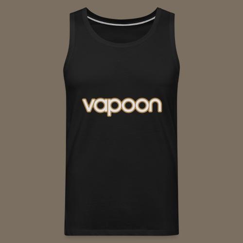 Vapoon Logo simpel 2 Farb - Männer Premium Tank Top