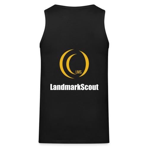Tshirt Black Front logo 2013 png - Men's Premium Tank Top