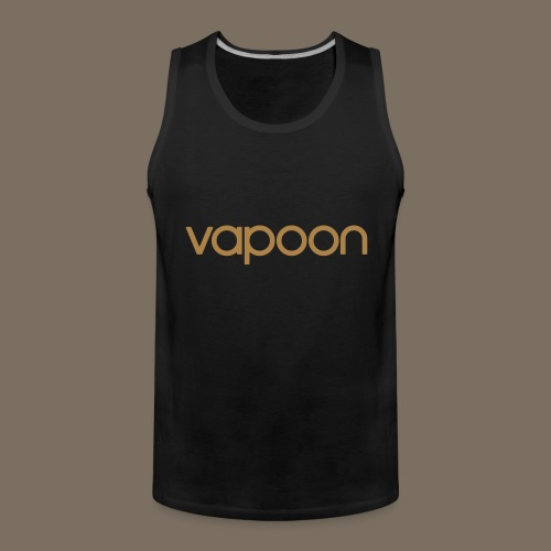Vapoon Logo simpel 01 - Männer Premium Tank Top