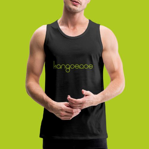 Green Kangoeroe design - Débardeur Premium Homme
