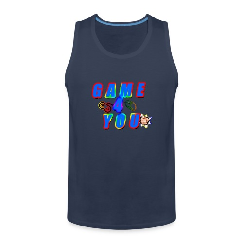 Game4You - Men's Premium Tank Top
