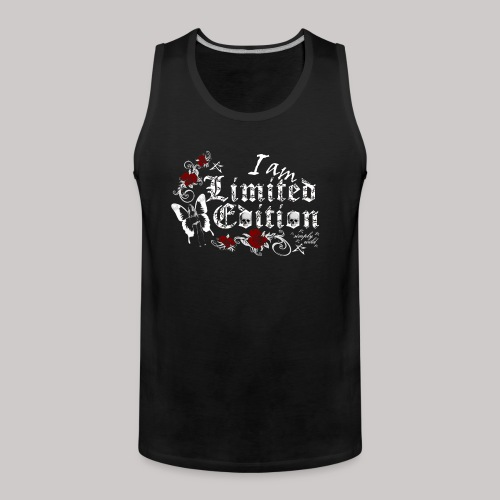 simply wild limited edition on black - Männer Premium Tank Top