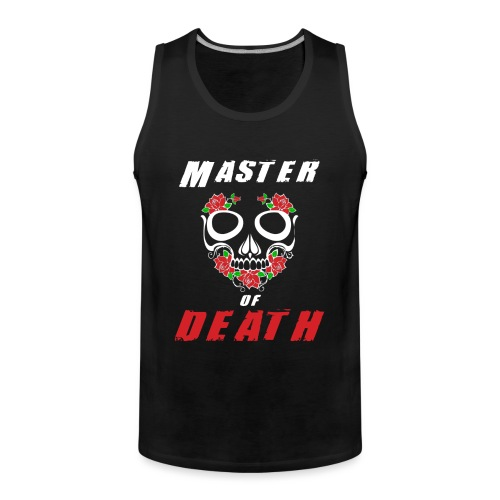 Master of death - white - Tank top męski Premium