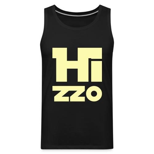 HIZZO_Star_light yellow - Männer Premium Tank Top