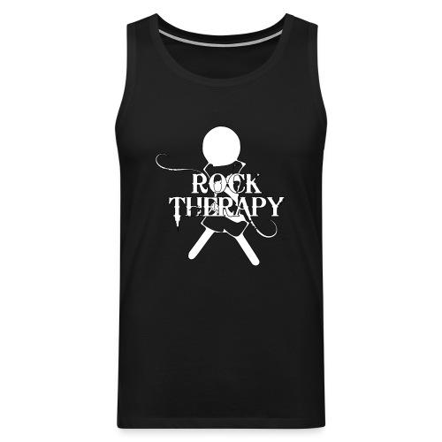 Rock Therapy Logo - Männer Premium Tank Top