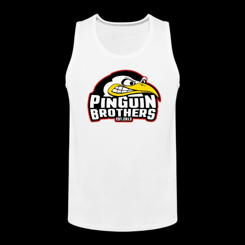 Pinguin bracia Clan - Tank top męski Premium
