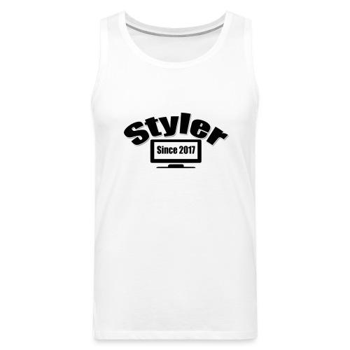 Styler Designer Kleding - Mannen Premium tank top
