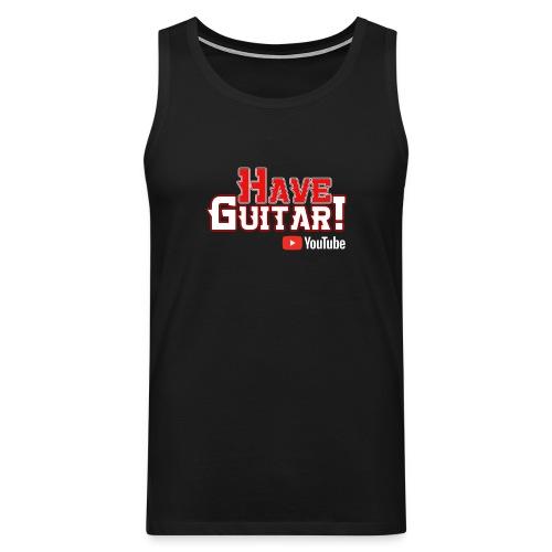 Have Guitar YT-logo - Premiumtanktopp herr