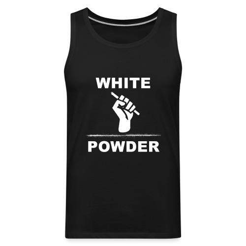 White Powder - Männer Premium Tank Top
