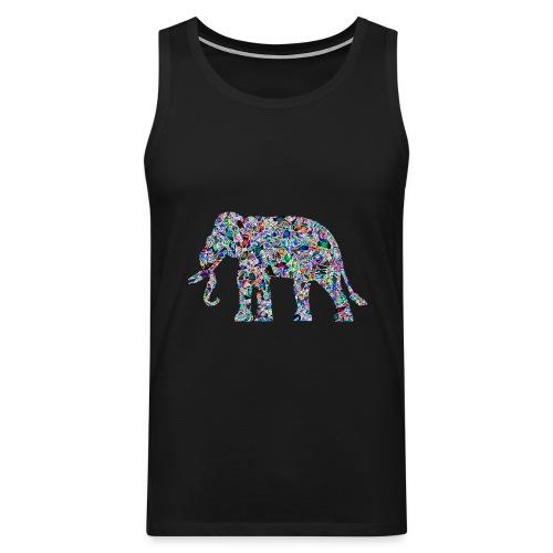 Elephant - Men's Premium Tank Top