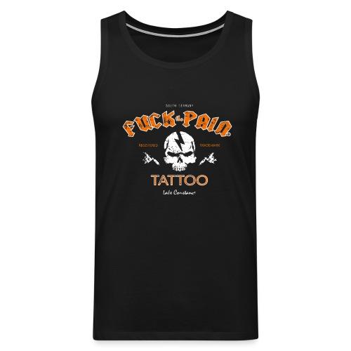 Skull F.T.P. Tattoo - Männer Premium Tank Top