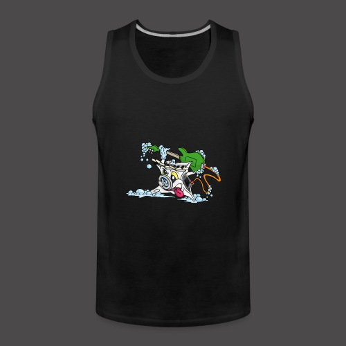 Wicked Washing Machine Wasmachine - Mannen Premium tank top