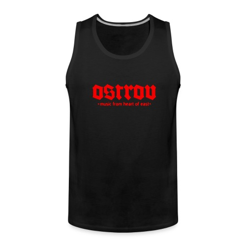 ostrov red 2 - Tank top męski Premium