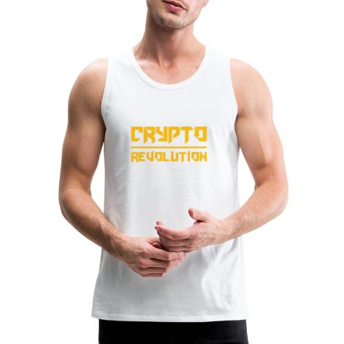 Crypto Revolution III - Men's Premium Tank Top