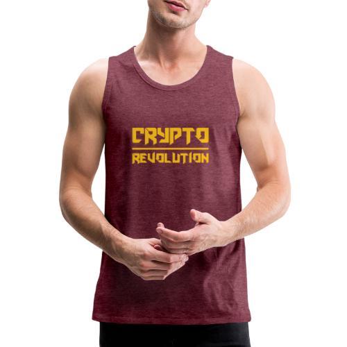 Crypto Revolution III - Men's Premium Tank Top