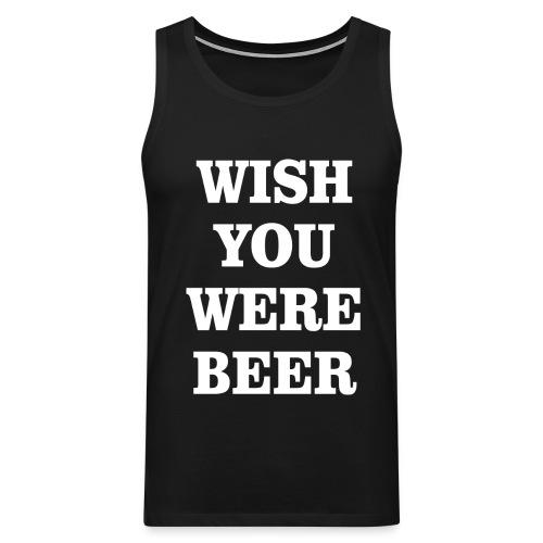 beer png - Männer Premium Tank Top