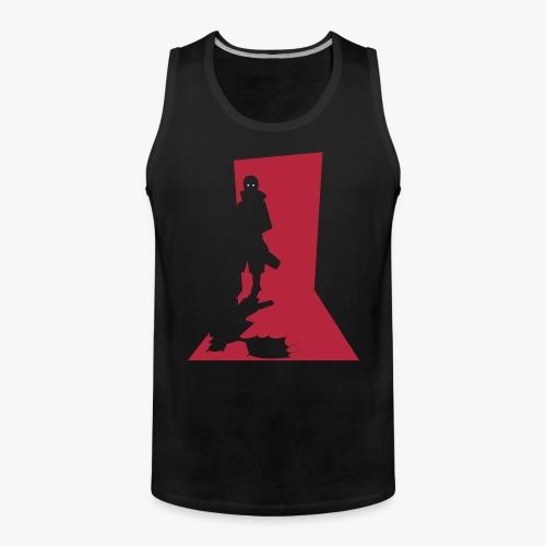 Monster in the Doorway - Herre Premium tanktop