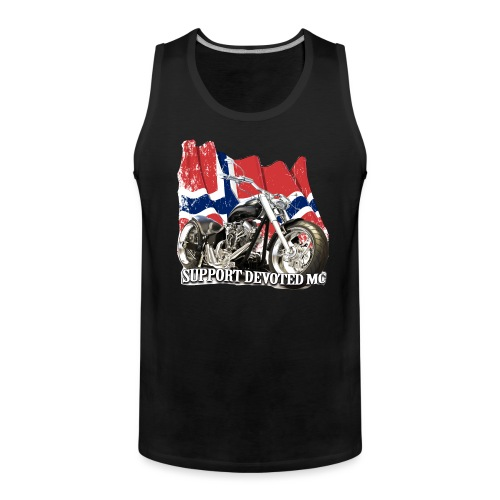 SUPPORT STREETWARE FLAG1 - Premium singlet for menn