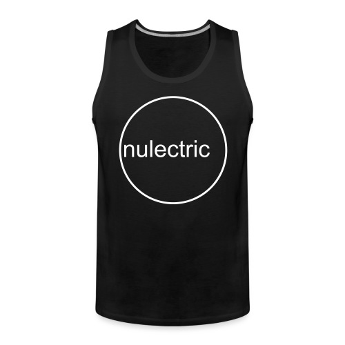 Nulectric Logo - Männer Premium Tank Top