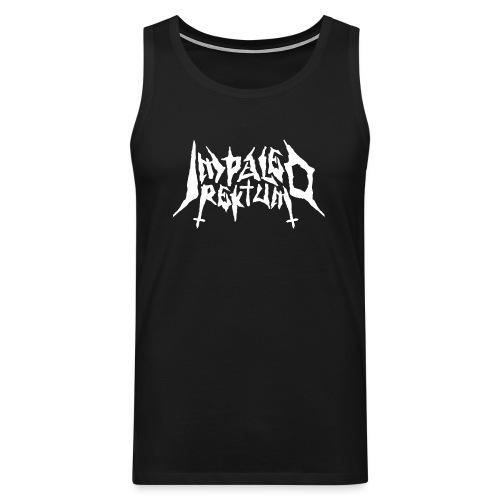 Impaled Rektum -logo shirt - Miesten premium hihaton paita