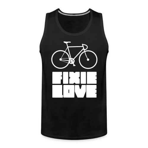 fixie love - Débardeur Premium Homme