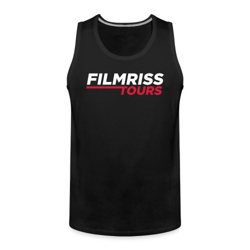FILMRISS TOURS – lustiges Shirt für Partys, JGA - Männer Premium Tank Top