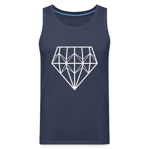 Diamond - Miesten premium hihaton paita