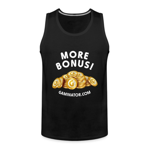 More bonus - Men's Premium Tank Top