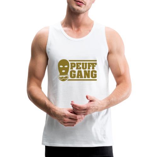 Peuff Gang Gold - Débardeur Premium Homme