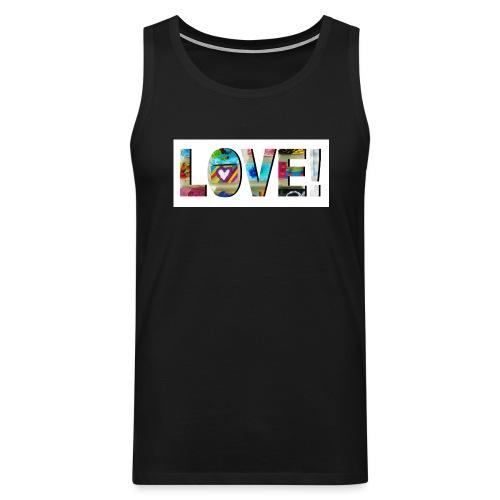 LOVE - Männer Premium Tank Top
