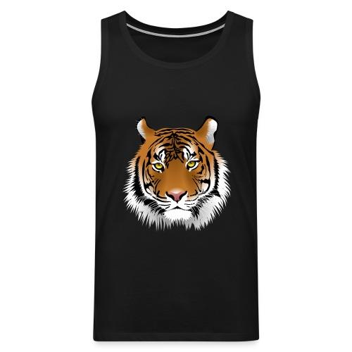 tiger numero 1 - Tank top premium hombre