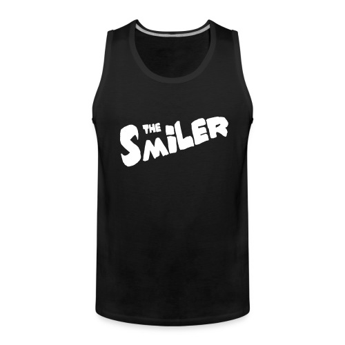 The Smiler Logo - Premium singlet for menn
