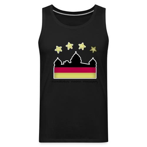Fanshirt__schwarz - Männer Premium Tank Top