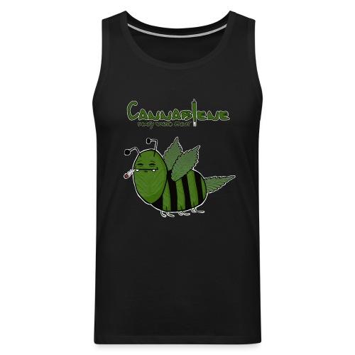 Cannabiene shirt png - Männer Premium Tank Top