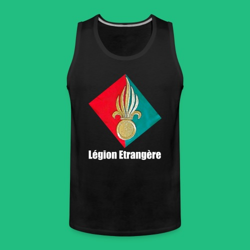 grenade legion blanche - Débardeur Premium Homme
