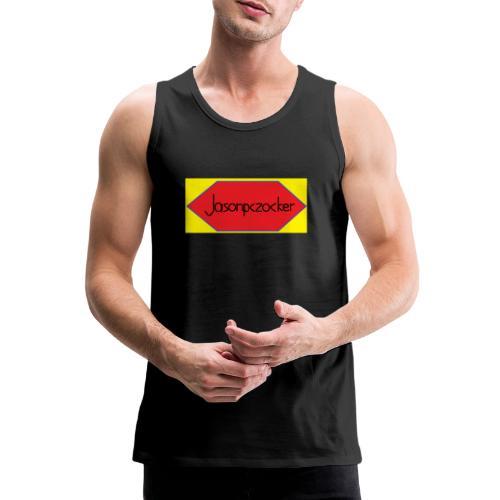 Jasonpczocker Design für gelbe Sachen - Männer Premium Tank Top
