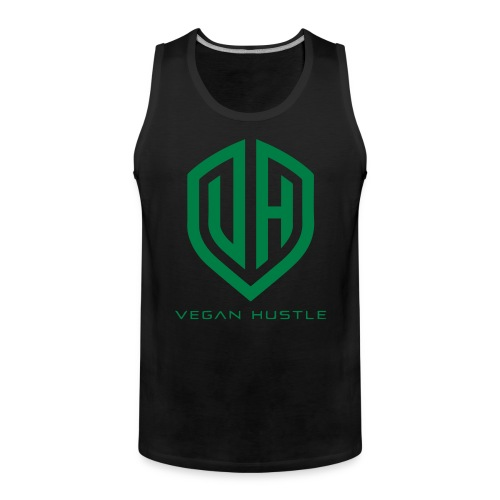 VGNHSTL CMYK Black - Men's Premium Tank Top