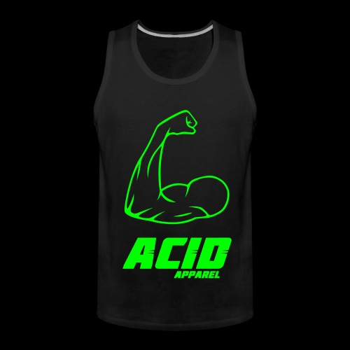 Acid Apparell Logo - Männer Premium Tank Top