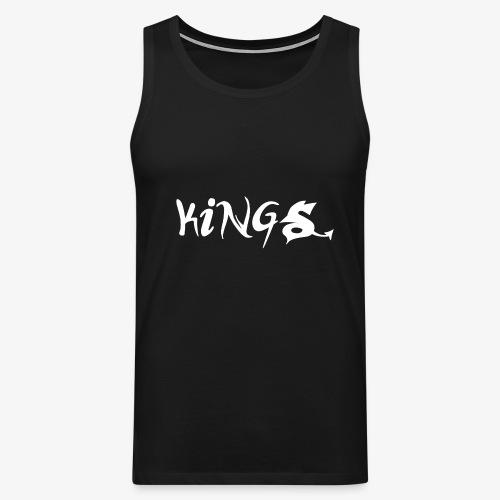 kings logo 3 png - Mannen Premium tank top