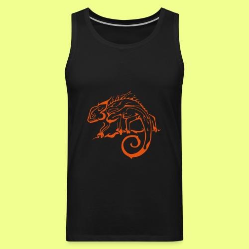 iguana - Tank top premium hombre