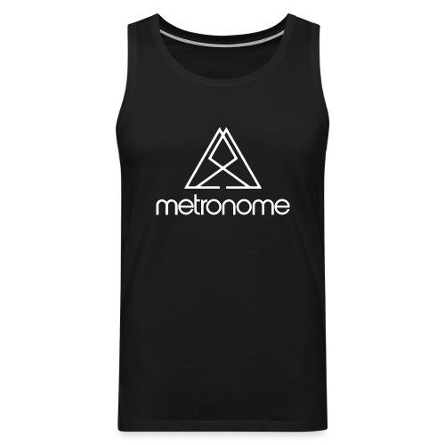 metronomelogoandtriangle - Men's Premium Tank Top