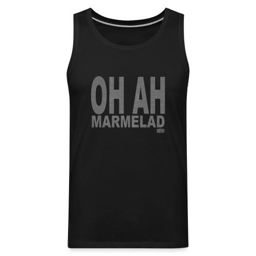 Marmelad5grey - Premiumtanktopp herr